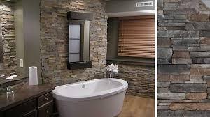piastrelle in pietra per bagno come usare rivestimenti bagno in pietra ricostruita pietre d arredo