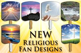 hand held fans for church stock religious design paper fans paper hand fans hand held stick