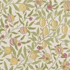 William Morris Wallpaper by Gordon Smith Malvern Ltd William Morris Fruit Limestone