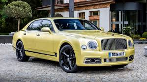 bentley yellow first drive 2017 bentley mulsanne