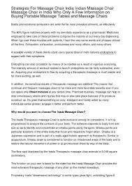 Indian Massage Chair Strategies For Massage Chair India Indian Massage Chair Massage Chai U2026