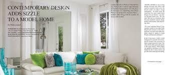 Luxury Home Decor Magazines Model Homes By Perla Lichi Featured In Florida Decor Perlalichi Com