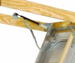 louisville ladder aa259gs elite aluminum attic ladder 350 pound