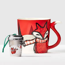 fox mug fox gift set these sly woodland creatures are great all year long