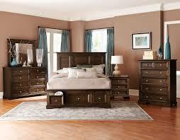 Storage Bedroom Set Homelegance Eunice Platform Storage Bedroom Set Espresso B1844dc