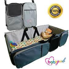3 in 1 diaper bag u2013 travel bassinet u2013 change station by babygarb