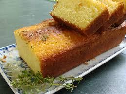 fleur de thym cuisine cake citron et fleur de thym du jardin et du marché à l assiette
