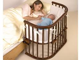 Side Crib For Bed Babybay Bedside Cot Inc Rail Mattress And Tencel Sheets