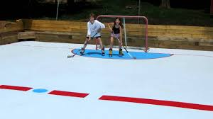 nice backyard synthetic ice rink design home design
