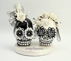 sugar skull cake topper skeleton wedding cake topper wedding cakes wedding ideas and