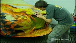 how to do a custom paint job on your car bike etc part 4 you