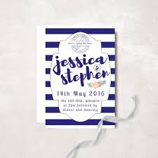 nautical save the date nautical striped wedding save the date navy wedding save the