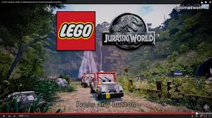 lego jurassic park jeep lego game the waterfall seems to be the center of the isla nublar