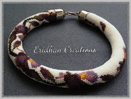 crochet necklace bead images Eridhan creations beading tutorials beaded crochet rope jpg