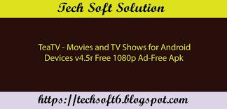 tv shows apk teatv and tv shows v4 5 apk free 2018