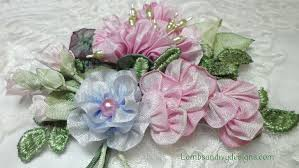 ribbon flowers how to make silk satin or ribbon roses 8 steps with pictures