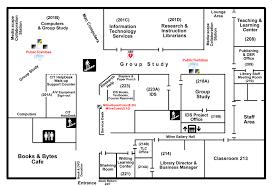 milne library floor plans suny geneseo