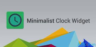 download minimalist clock widget apk 0 6 6 2 minimalist clock