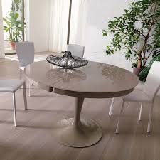 dining room dining room design with round expandable dining table