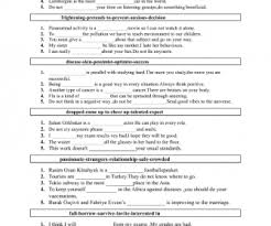 199 free recycling and revising worksheets