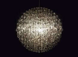 recycled chandeliers stuart haygarth u0027s opulent chandeliers are made entirely from