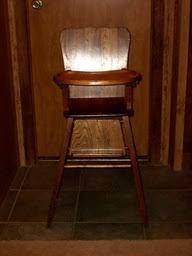 Wooden High Chair For Sale Custom Wood Products Dan U0027s Outback Woodworks