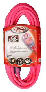 coleman cable 02577 0a 25 foot 12 3 neon outdoor extension cord
