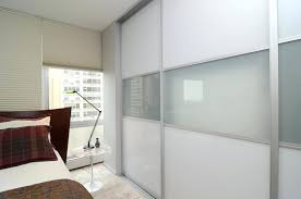 Frosted Closet Sliding Doors Opaque Glass Sliding Door Sliding Door Project At W Closet