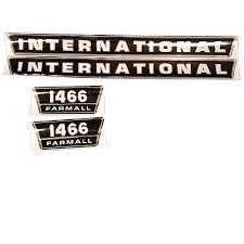 international harvester decal set 1466 international harvester