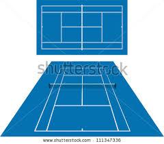 free tennis court vector download free vector art stock