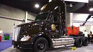 kenworth toronto 2017 kenworth ups lng gas engine truck walkaround 2017 nacv