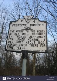 Monroe S House President Monroe U0027s Home The House To The North Is Oak Hill