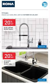 rona faucets kitchen rona sale on kitchen faucets sinks interior design toronto