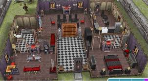Home Design For Sims Freeplay Sims Freeplay Haunted Mansion Prebuilt Houses Greenoid Gemzicle