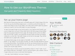 how to use our wordpress themes xtremelysocial aws