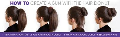 hairstyles with a hair donut how to make a hair donut hairstyle ideas