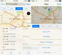 San Diego Transit Map by Ios 8 Apple Polishes Maps Data Adds Public Transit Directions