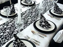black and white table runners cheap black and white table runners kitzuband com