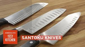 kitchens knives equipment review best santoku knives our testing winners youtube