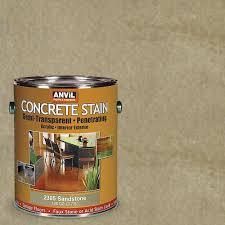 anvil 1 gal sandstone semi transparent translucent concrete stain