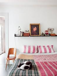 Versatile Bedroom Decor Shelves the Bed