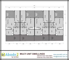 multi unit floor plans abode2 granny flats multi units projects lismore