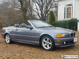 2002 bmw for sale by owner 2002 bmw 3 series convertible heated seats 1 owner no accidents
