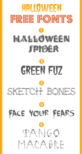 95 best halloween fonts images on pinterest halloween fonts