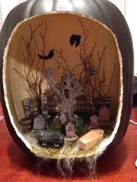 18 pumpkin dioramas that will slay your halloween decor