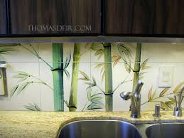 Kitchen Tile Murals Backsplash by Kitchen Remodel Asian Bamboo Tile Murals U2013 Thomas Deir Honolulu Hi