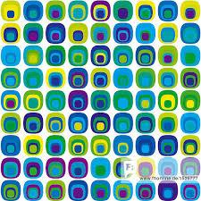 Muster Blau Grün Muster Der Gelb Blau Gr禺n Und Lila Ringe Lizenzfreies Bild