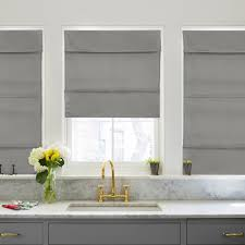 Cordless Window Shades Cordless Magnetic Roman Shade Daily Grey U2013 Chicology