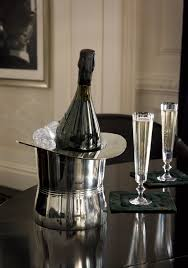 presenting the finley ice bucket u0026 celeste champagne flutes from