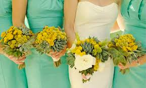mint green and cream color wedding inspiration